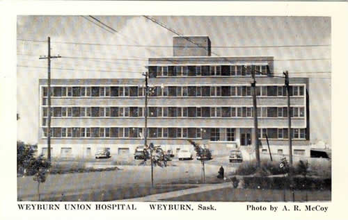 Weyburn Union Hospital – Official Opening pic 1952